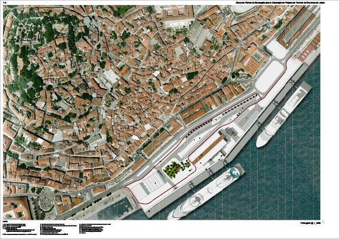 Lisbon Cruise Terminal Matosarquitectos - Lisbon cruise ship port